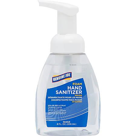 Genuine Joe Foaming Hand Sanitizer, 8 Oz. Pump