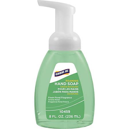 Genuine Joe Antibacterial Foaming Hand Soap, 8 Oz. Pump