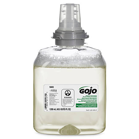 GOJO® TFX™ 2730 Green Seal Certified Foam Hand Cleaner Refill, 40.5 Oz.
