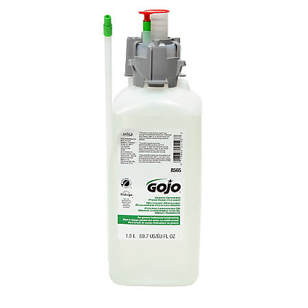 GOJO® Green Seal Certified Sanitary Sealed Counter-Mount Soap Refill, 1500 mL