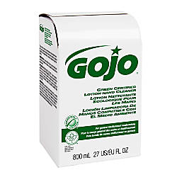 GOJO Green Seal Certified Handwash Lotion