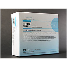 Derma Sciences Dermagran B Hydrophilic Wound