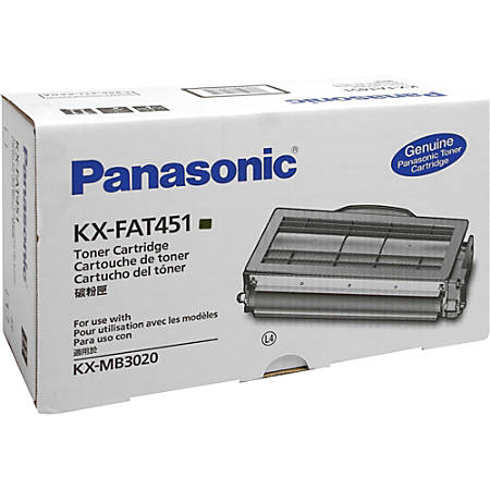 Panasonic KX-FAT451 Original Toner Cartridge - Laser - 5000 Pages - Black - 1 Each