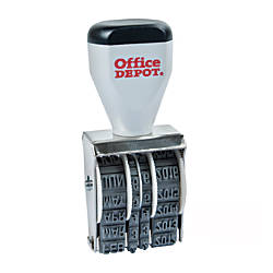 Office Depot Brand Traditional Line Dater