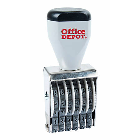 Office Depot® Brand Traditional Numberer