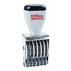 Office Depot Brand Traditional Numberer