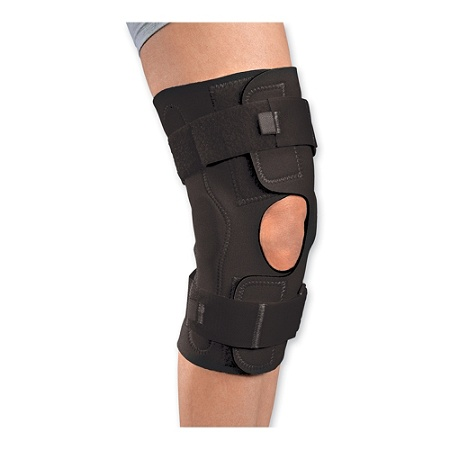 8dec9851ea DJ Orthopedics Reddie™ Brace Hinged Knee Brace, X-Large. Use + and - keys  to zoom in and out, arrow keys move the zoomed portion of the image