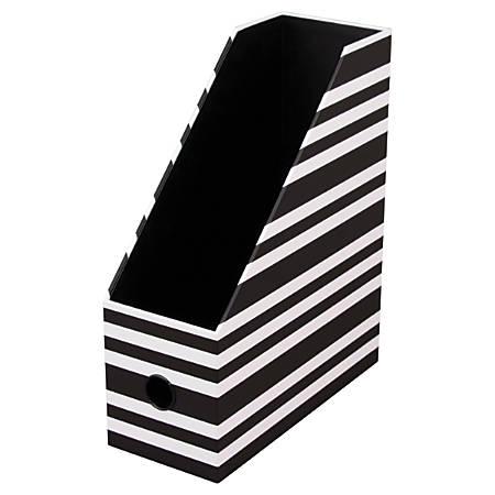 See Jane Work® Magazine File, Black Stripe