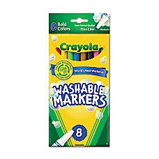 Crayola Bright Washable Markers Fine Marker
