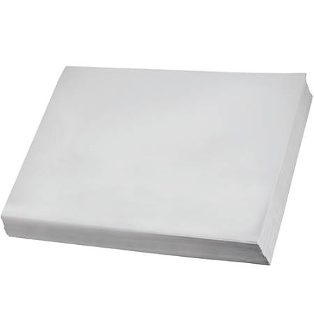 """Office Depot® Brand Newsprint Sheets, 20"""" x 30"""", 100% Recycled, White, Case Of 600"""