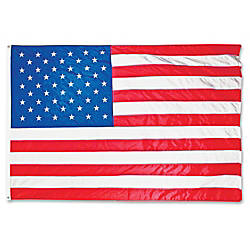 Advantus Heavyweight Nylon Outdoor US Flag
