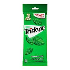Trident Spearmint Gum 14 Pieces Per