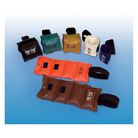 The Cuff® Wrist/Ankle Weight, 1 Lb, Blue