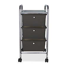 Advantus 3 Drawer Organizer With Casters