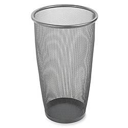 Safco Mesh Wastebasket 9 Gallons Black