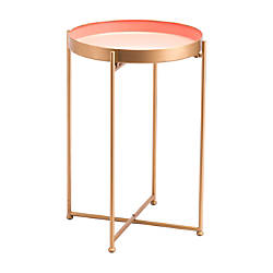Zuo Modern Red Tall End Table