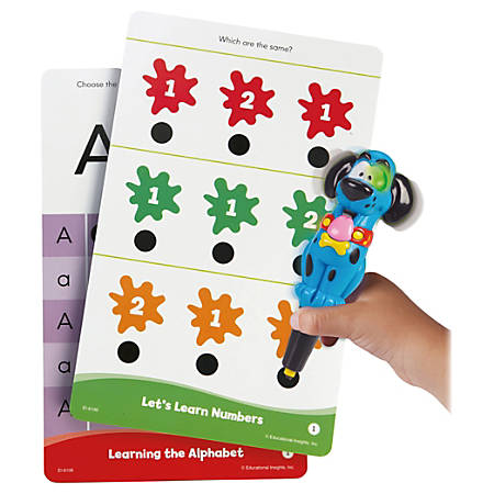 Learning Resources Hot Dots Jr School Learning Set - Theme/Subject: Learning - Skill Learning: Color, Letter, Number, Shape - 4-6 Year