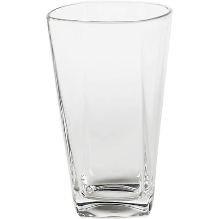 Office Settings Cozumel Drinking Glasses, 16 Oz, Clear, Box Of 6