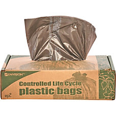 Controlled Life Cycle Trash Garbage Bags