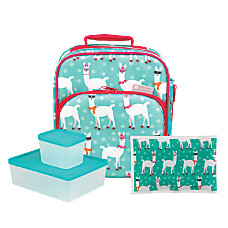 Bentology 4 Piece Lunch Kit Llama