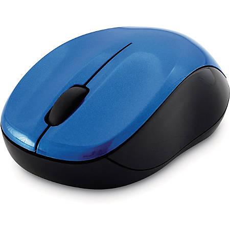Verbatim Silent Wireless Blue LED Mouse - Blue