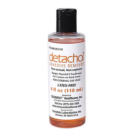 Ferndale Laboratories Detachol® Adhesive Remover, 4 Oz