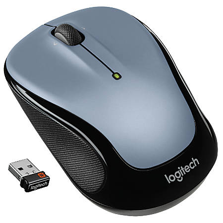 Logitech® M325 Wireless Optical Mouse, Silver, 910-002332