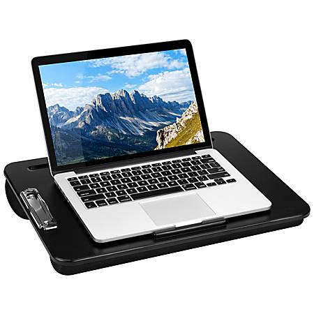 """LapGear Clipboard Lap Desk, 17.9""""H x 13""""W x 2.6""""D, Black"""