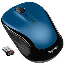 Logitech M325 Wireless Mouse Blue