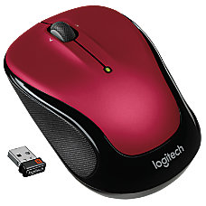 Logitech M325 Wireless Mouse Red