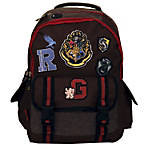 "Harry Potter Backpack With 10"" Laptop Pocket, Brown"