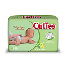 Cuties Baby Diapers Size 2 12