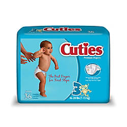 Cuties Baby Diapers Size 3 16