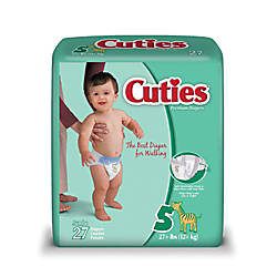 Cuties Baby Diapers Size 5 27