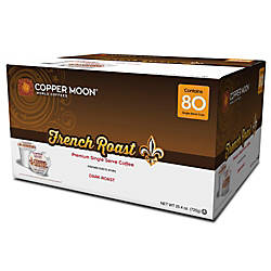 Copper Moon Coffee Single Cups French