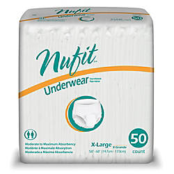 Nu Fit Protective Underwear X Large