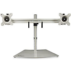 StarTechcom Dual Monitor Stand Horizontal For