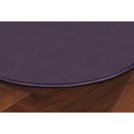 Flagship Carpets Americolors Rug, Oval, 12' x 15', Pretty Purple