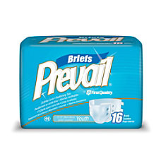 Prevail Specialty Size Briefs Youth 15