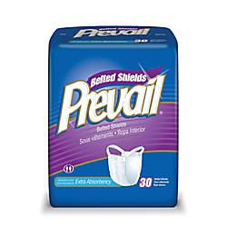 Prevail Belted Shield One Size White