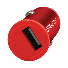 Duracell Mini Car Charger For USB