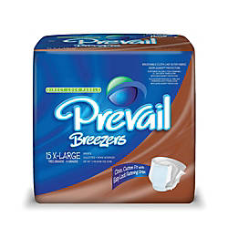 Breezers By Prevail Adult Briefs X
