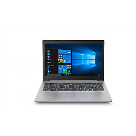 "Lenovo IdeaPad 330-15IGM 81D1000NUS 15.6"" Notebook - 1366 x 768 - Pentium N5000 - 4 GB RAM - 500 GB HDD - Platinum Gray"
