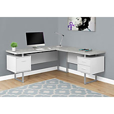 Shop Corner Amp L Shaped Desks Office Depot Amp Officemax