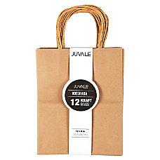 12 Count Brown Kraft Bags Paper