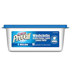 Prevail Disposable Washcloths Institutional Jumbo Tub