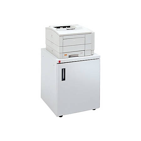 Bretford FC2020-GM Laser Printer Stand, White