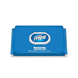 Prevail Disposable Washcloths Press Pull Softpak