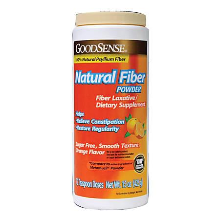 GoodSense® Natural Fiber Powder, Sugar Free Formula, 15 Oz