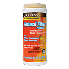 GoodSense Natural Fiber Powder Sugar Free